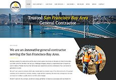 construction contractor website