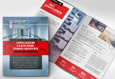 construction product brochure