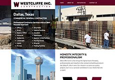 commercial construction website