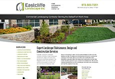 Commercial Landscape Website