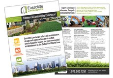 Commercial Landscaper Sell Sheet