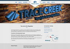 Trace Creek website