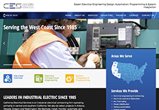 California Electrical services website