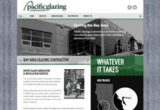 construction glass contractor website