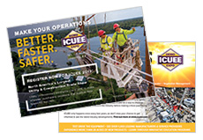 Construction Event Postcard