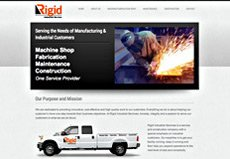 industrial manufacturing website