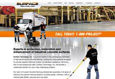 industrial services website