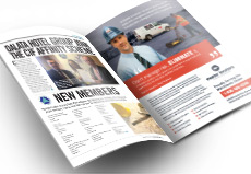 trade magazine advertising